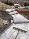 Limestone Patio Around Westland MI - Tilt Landscaping - IMG_0952