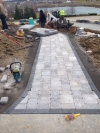 Limestone Patio Around Westland MI - Tilt Landscaping - c3