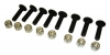 Western Snow Plow Cutting Edge Bolts - 9 Piece Bolt Kit