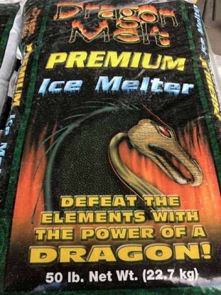 Dragon Melt Ice Melter **$7.50 Per Bag Pallet Price**
