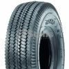 4.10 x 3.50 x 4 Saw Tooth Tubeless Tire